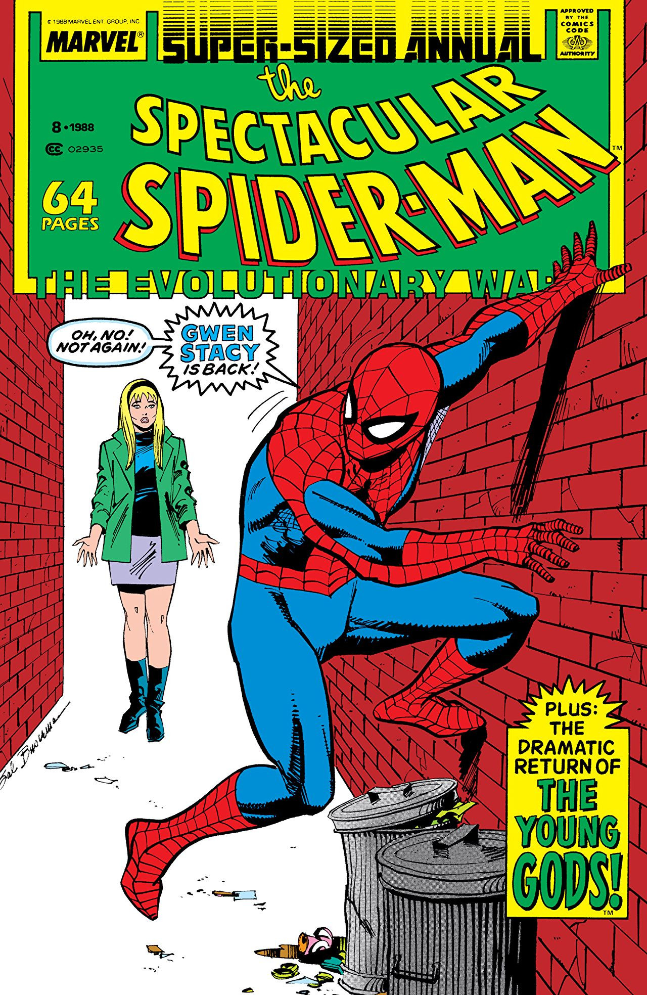 Spectacular Spider-Man Annual Vol 1 8