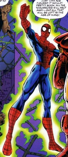 Spider-Man (Android) (Earth-6311) from Spider-Man Team-Up Vol 1 4 001.jpg