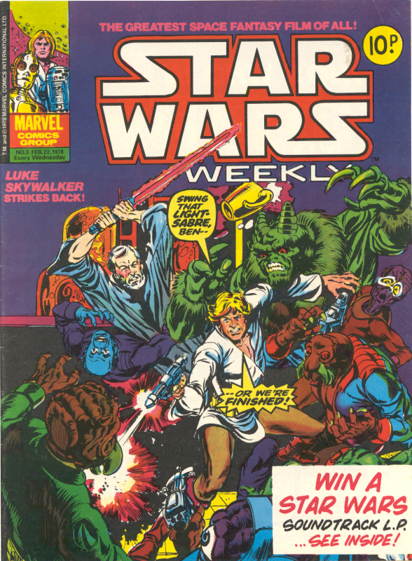 Star Wars Weekly (UK) Vol 1 3
