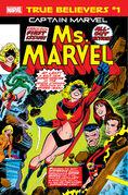 True Believers Captain Marvel - Ms. Marvel Vol 1 1