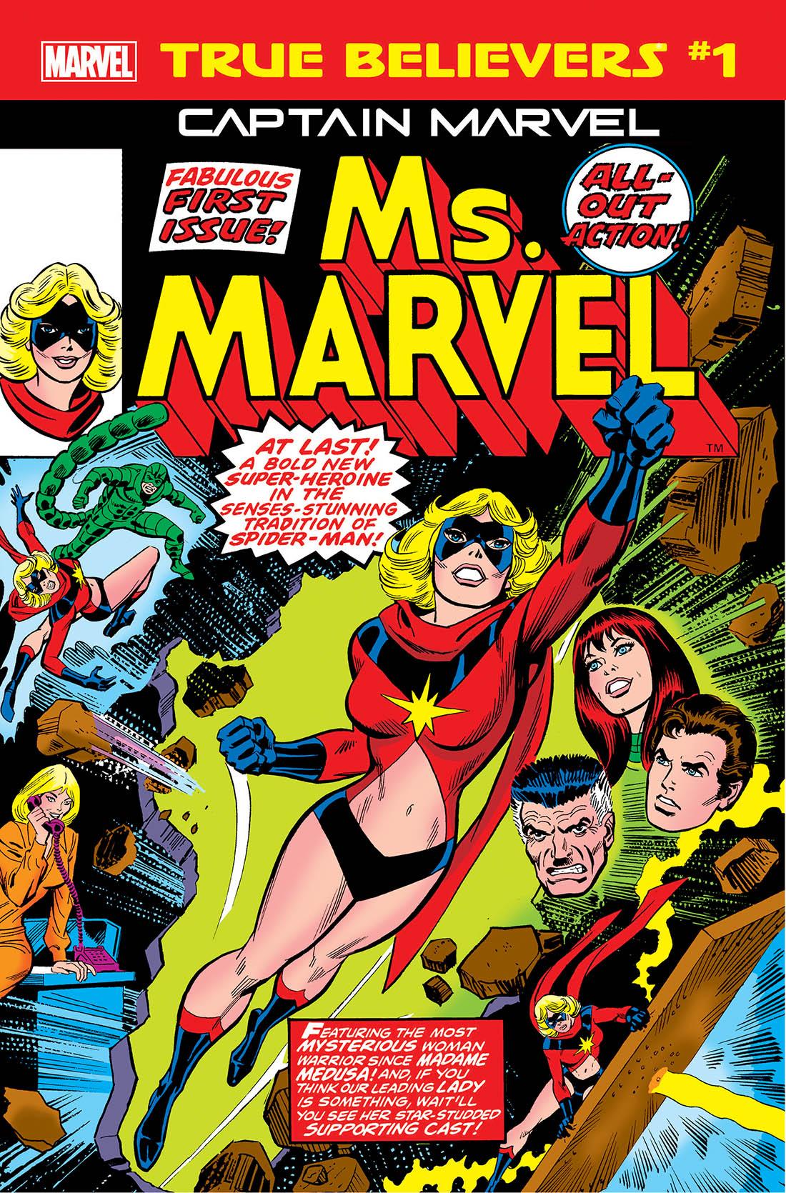 True Believers: Captain Marvel - Ms. Marvel Vol 1 1
