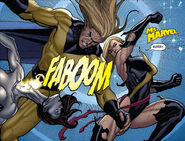 Ultron (Earth-616), Robert Reynolds (Earth-616), and Carol Danvers (Earth-616) from Mighty Avengers Vol 1 6 0001