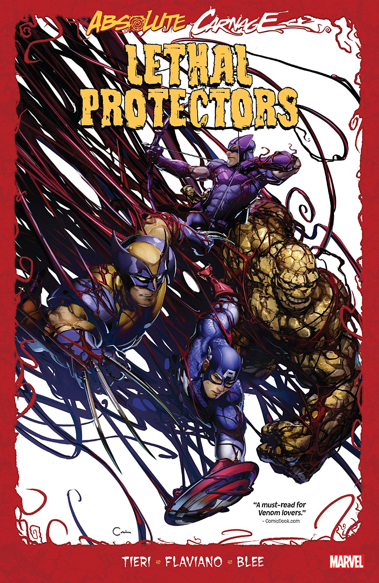 Absolute Carnage: Lethal Protectors TPB Vol 1 1
