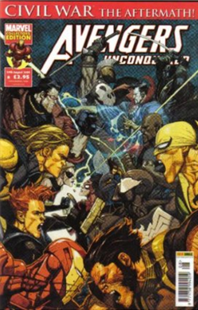 Avengers Unconquered Vol 1 8