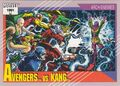 Avengers vs. Nathaniel Richards (Kang) (Earth-6311) from Marvel Universe Cards Series II 0001