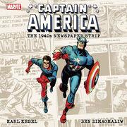 Captain America The 1940's Newspaper Strip TPB Vol 1 1