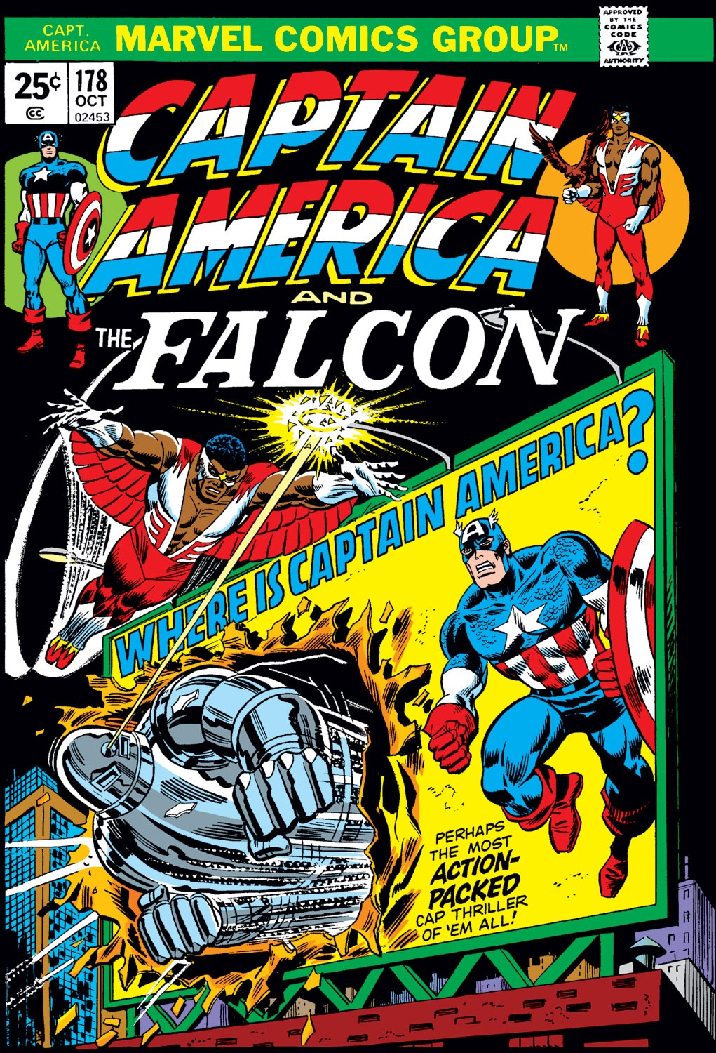 Captain America Vol 1 178