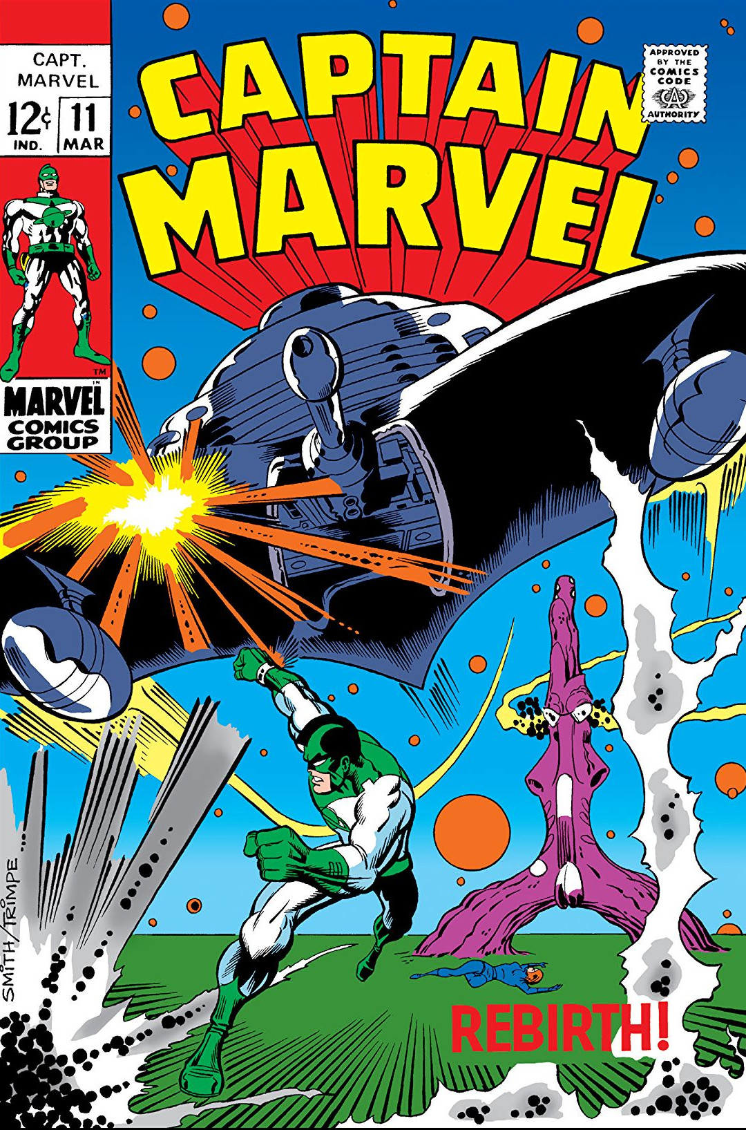 Captain Marvel Vol 1 11