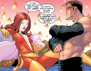 Emma Frost (Earth-616) and Scott Summers (Earth-616) from New X-Men Vol 1 138 0002