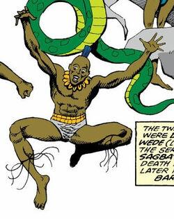 Eschu (Vodū) (Earth-616) from Doctor Strange, Sorcerer Supreme Vol 1 17 0001.jpg