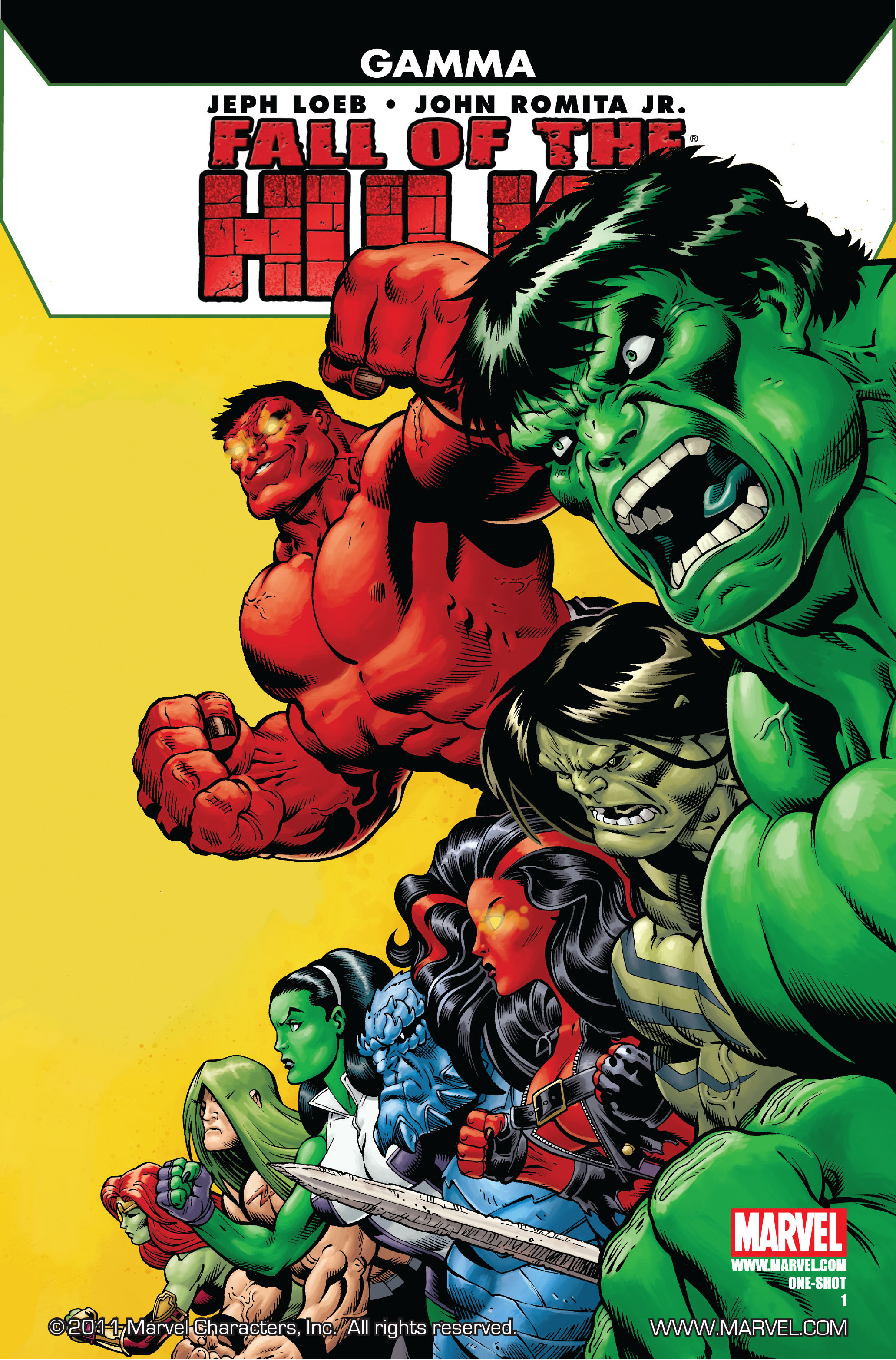 Fall of the Hulks: Gamma Vol 1 1