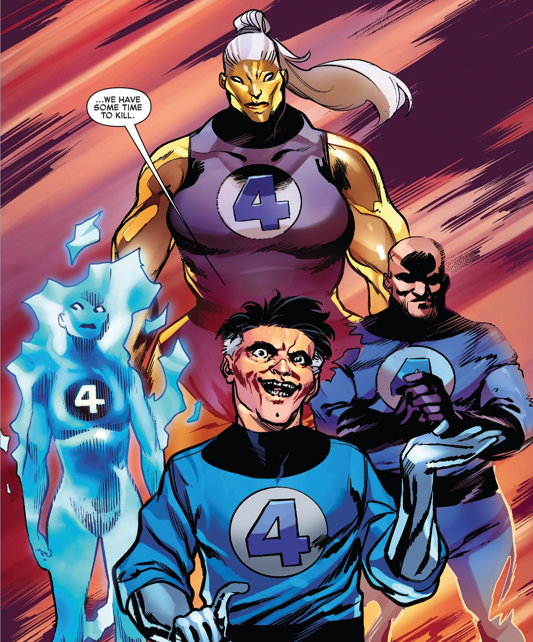 Fantastic Four (Mad Thinker's) (Earth-616)/Gallery