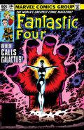 Fantastic Four Vol 1 244