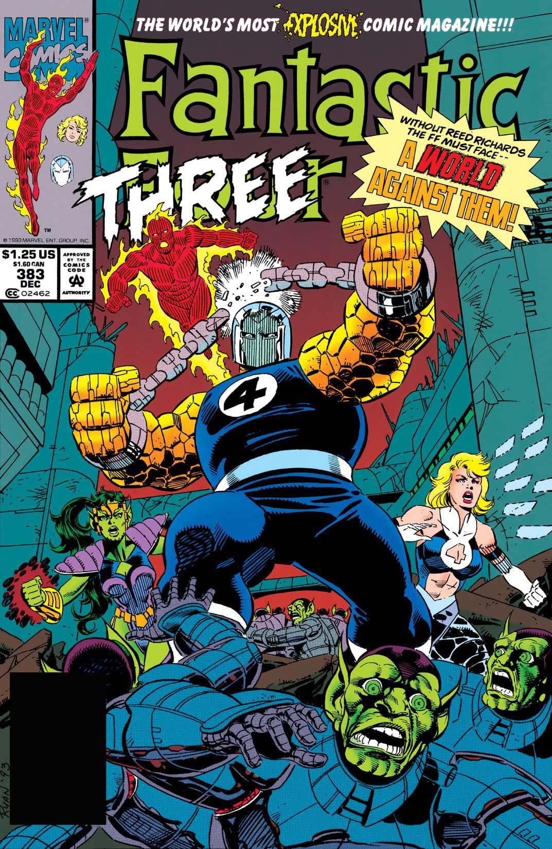 Fantastic Four Vol 1 383