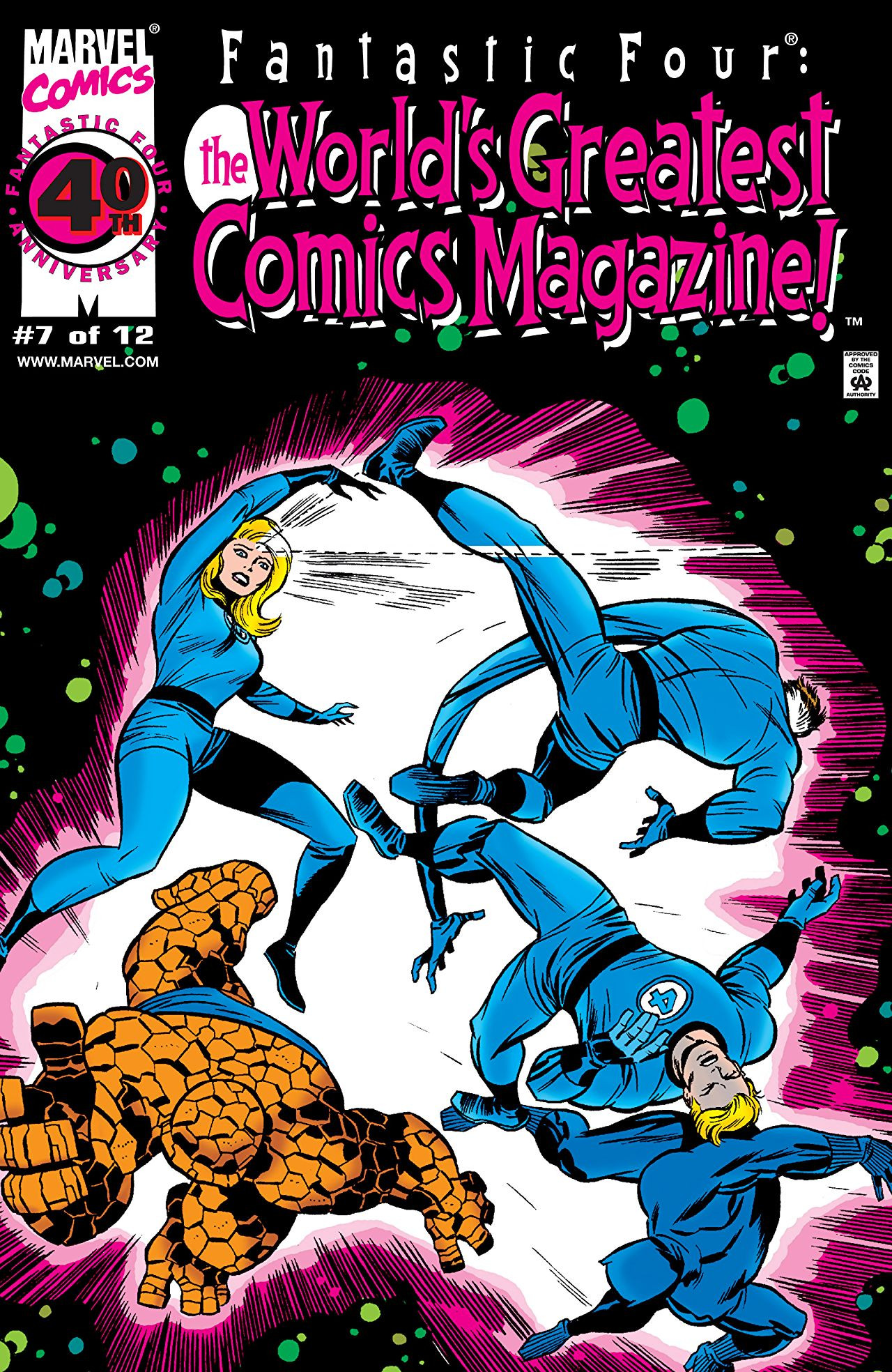 Fantastic Four: World's Greatest Comics Magazine Vol 1 7