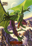 Karl Lykos (Earth-616) from Marvel Masterpieces Trading Cards 1994 Set 0001