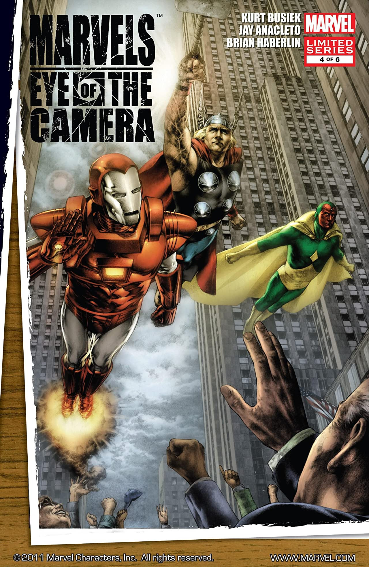 Marvels: Eye of the Camera Vol 1 4