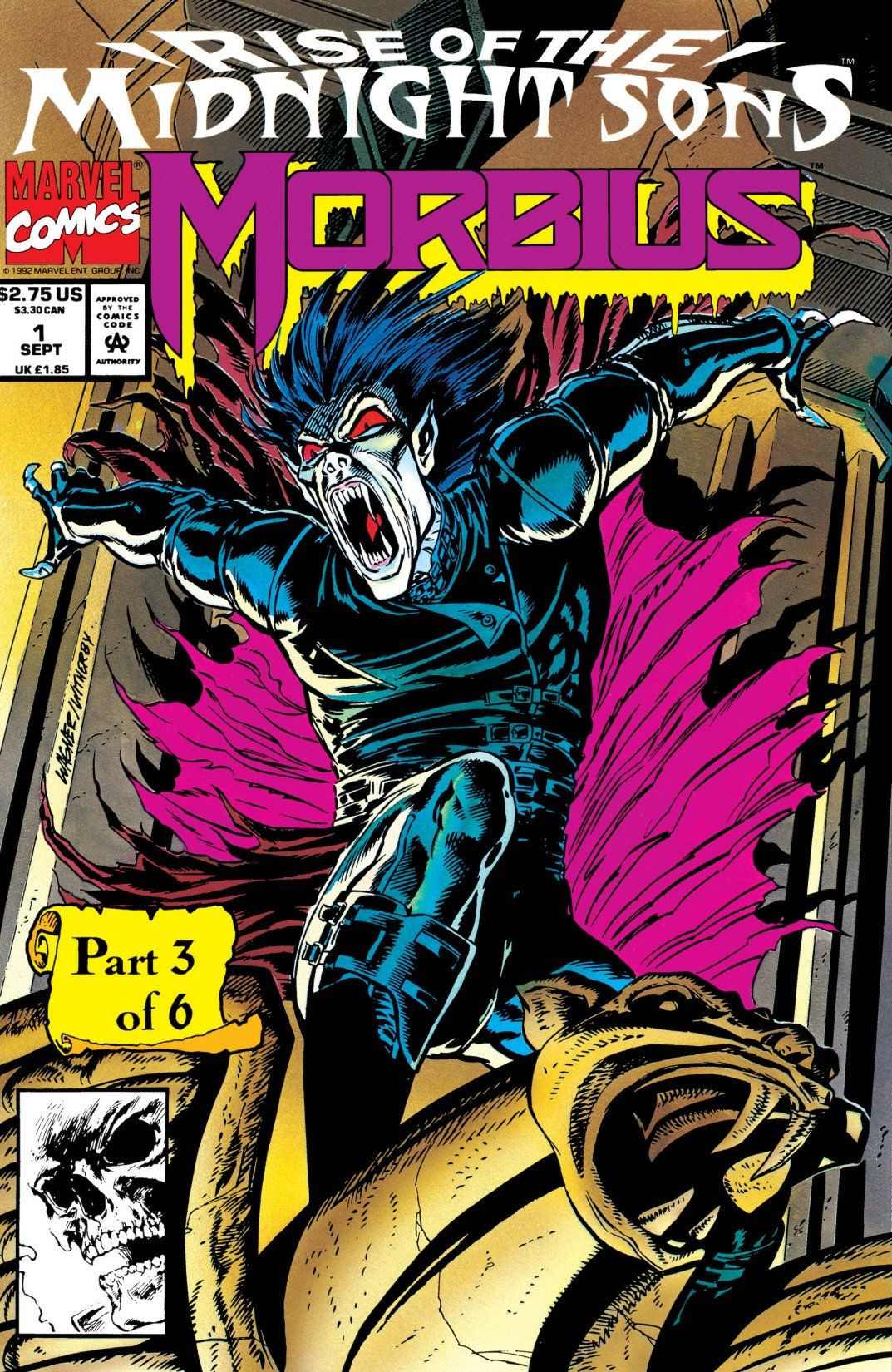 Morbius: The Living Vampire Vol 1 1