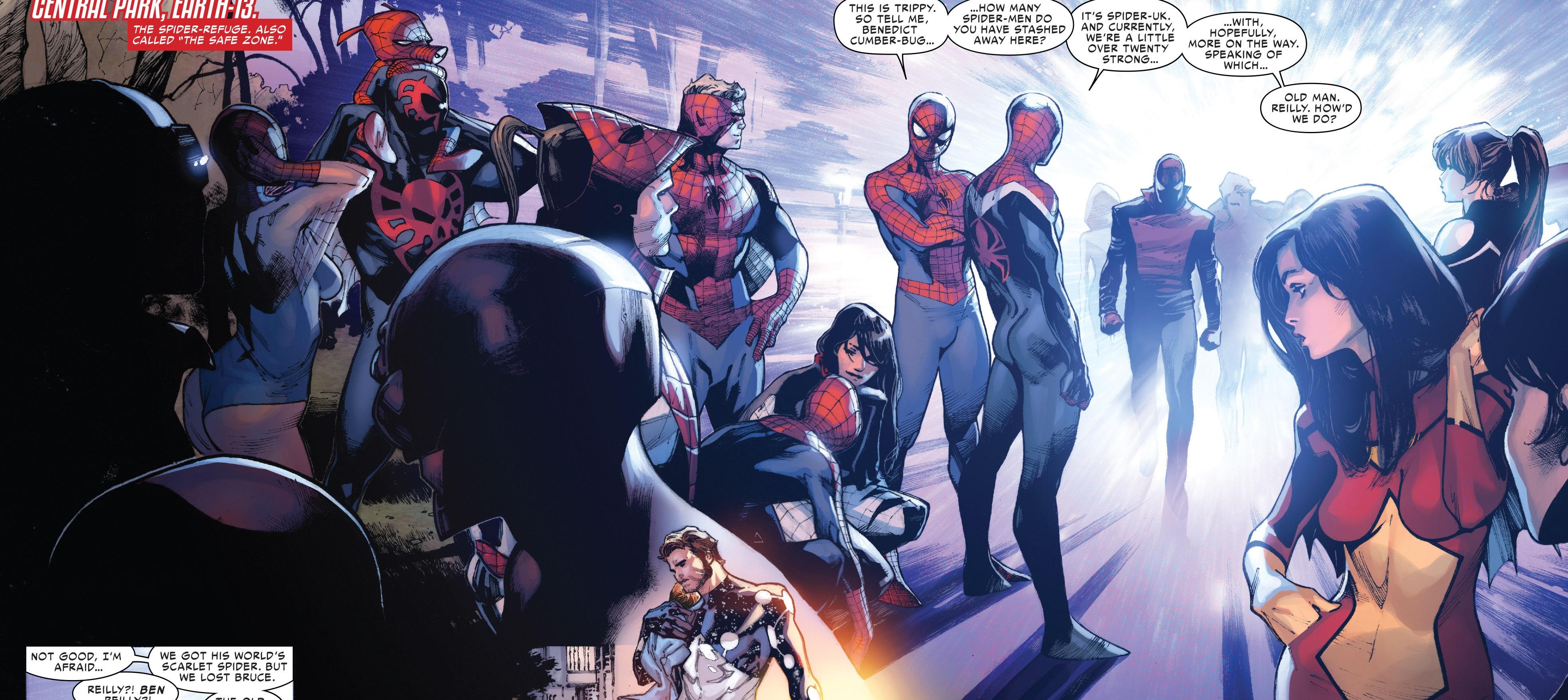 Spider-Army (Multiverse) from Amazing Spider-Man Vol 3 9 001.jpg