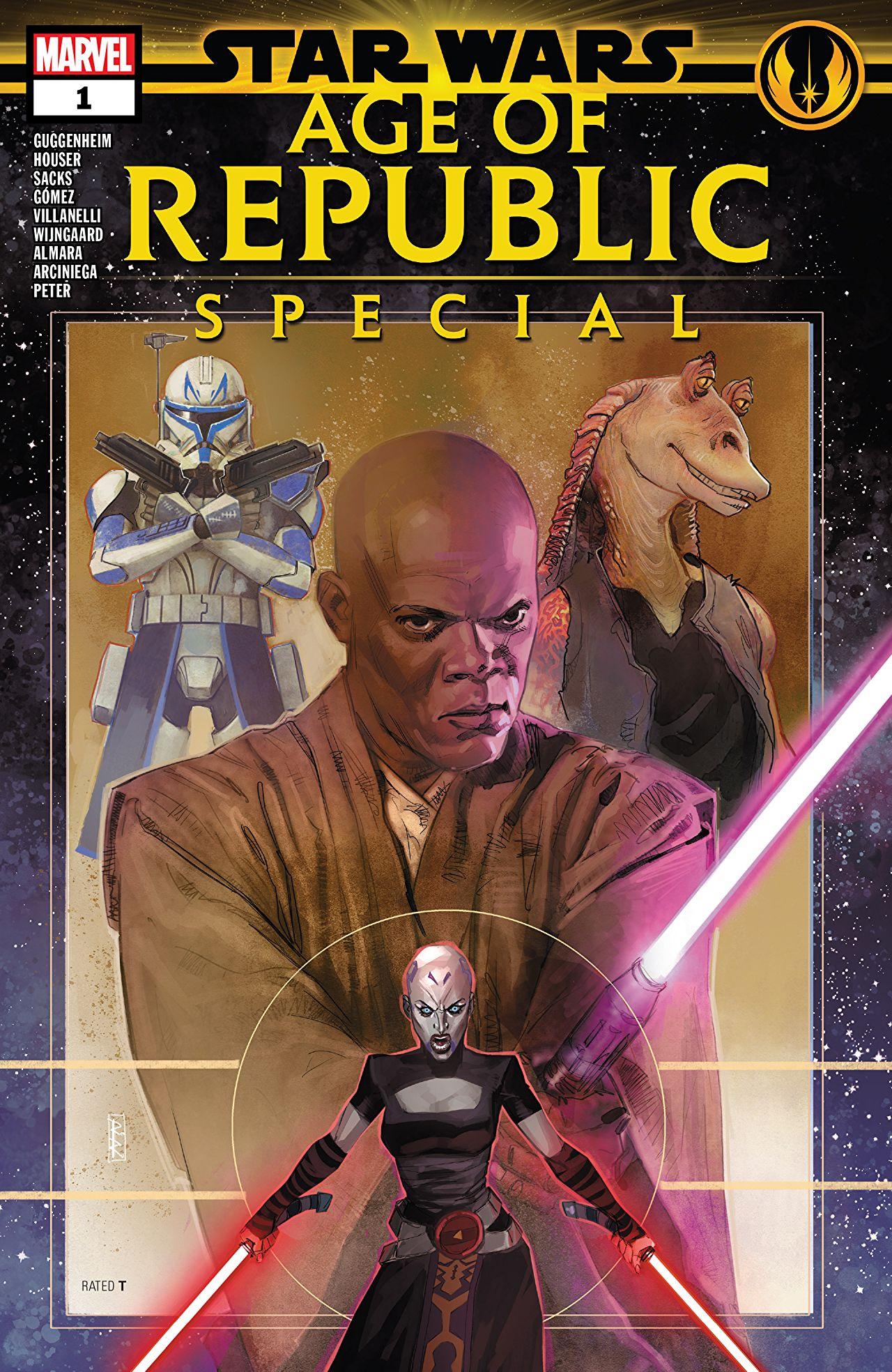 Star Wars: Age of Republic Special Vol 1 1