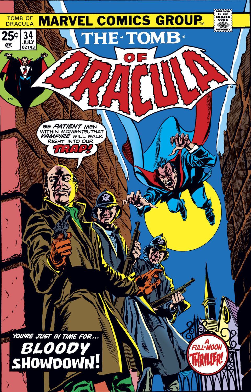 Tomb of Dracula Vol 1 34