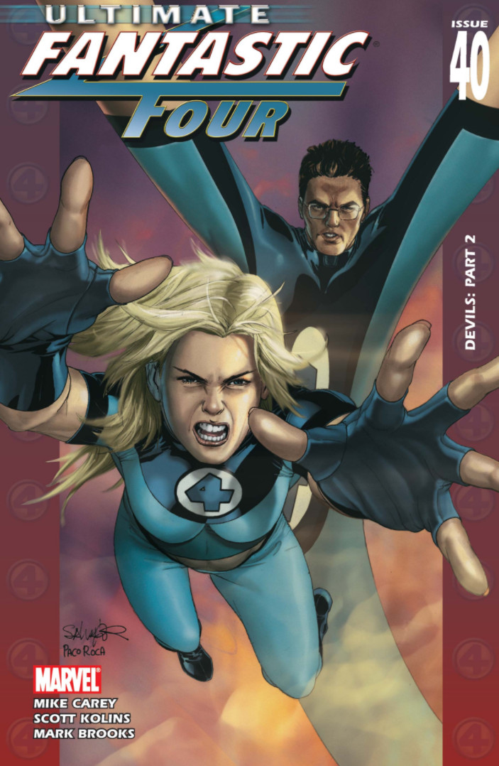 Ultimate Fantastic Four Vol 1 40