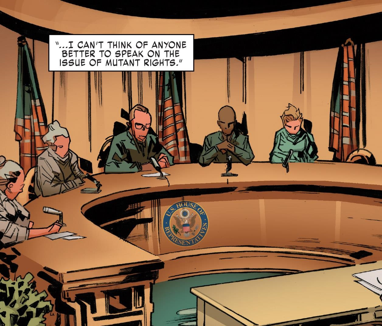 United States Congress (Earth-616)/Gallery