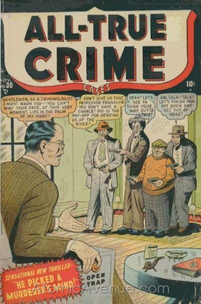 All True Crime Cases Comics Vol 1 30