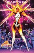 Captain Marvel Vol 10 1 JSC Exclusive Variant D