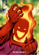 Dormammu (Earth-616) from Marvel Masterpieces Trading Cards 1992 0001