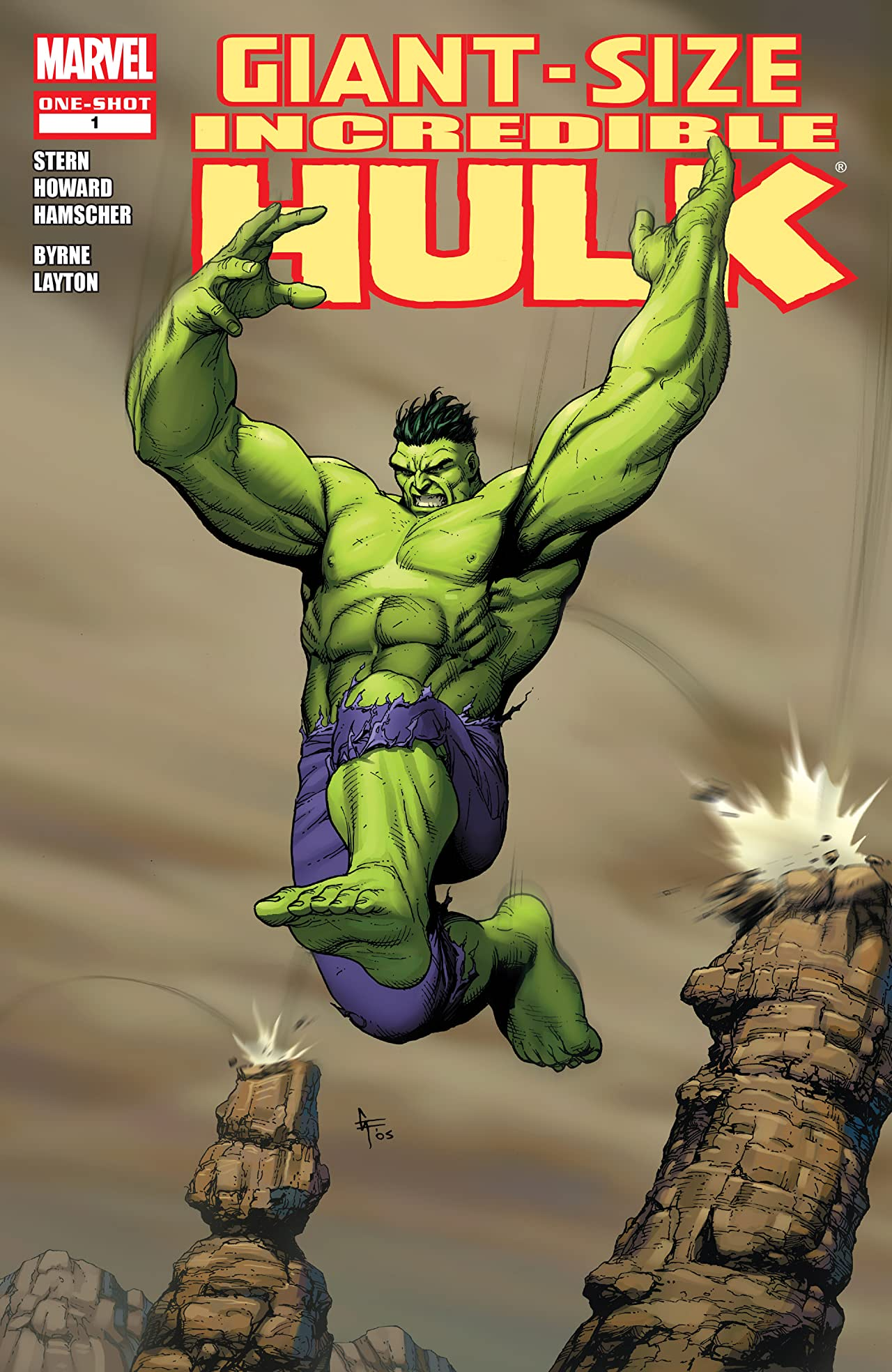 Giant-Size Incredible Hulk Vol 1 1