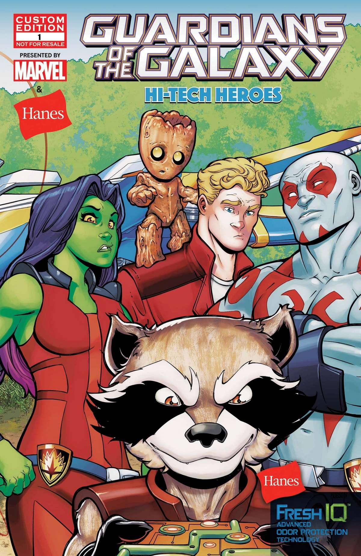 Guardians of the Galaxy: Hi-Tech Heroes Vol 1 1