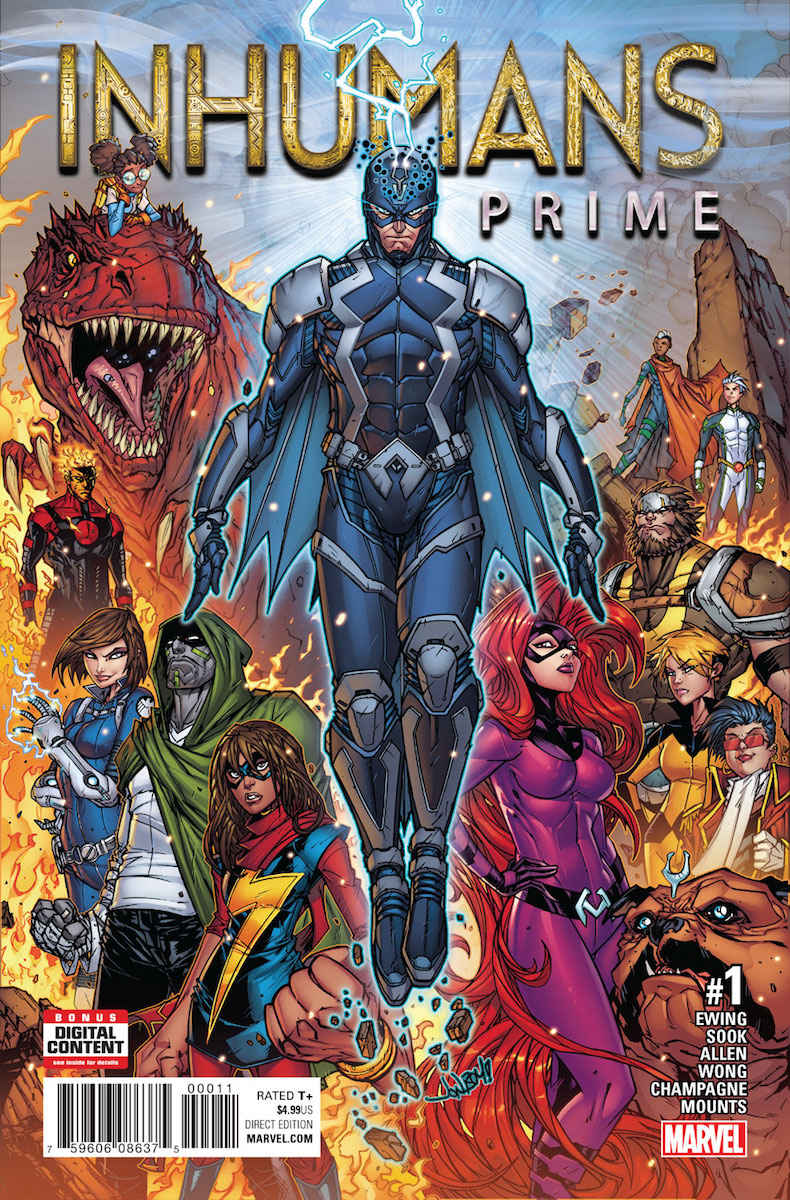 Inhumans Prime Vol 1 1