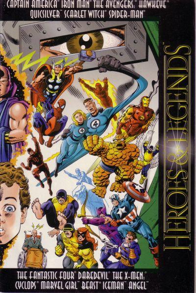 Marvel: Heroes & Legends Vol 1 1
