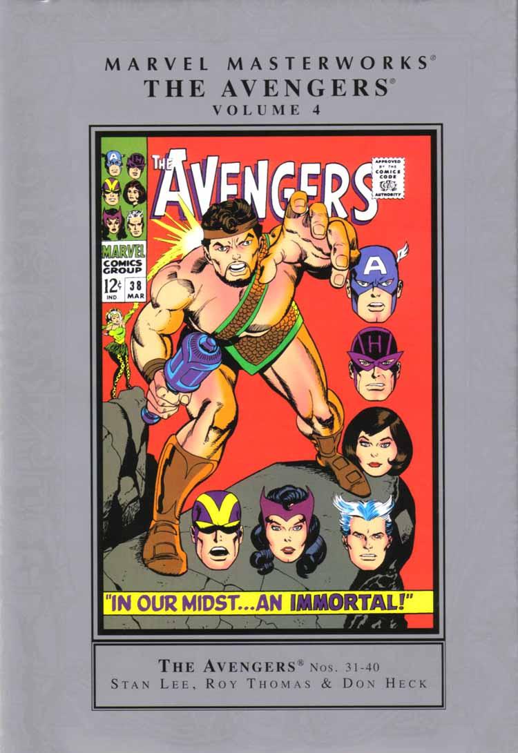 Marvel Masterworks: Avengers Vol 1 4