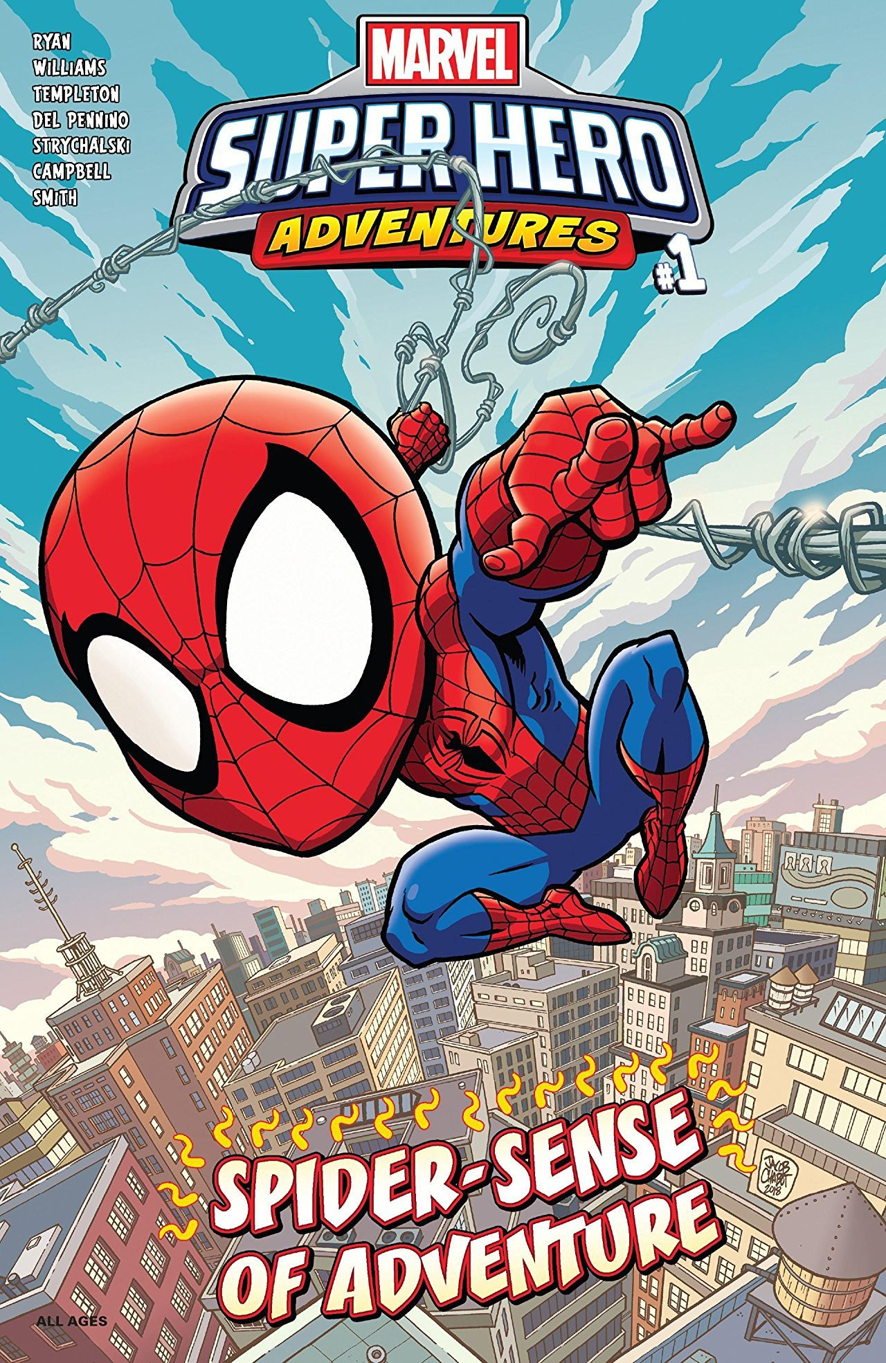 Marvel Super Hero Adventures: Spider-Man - Spider-Sense of Adventure Vol 1 1