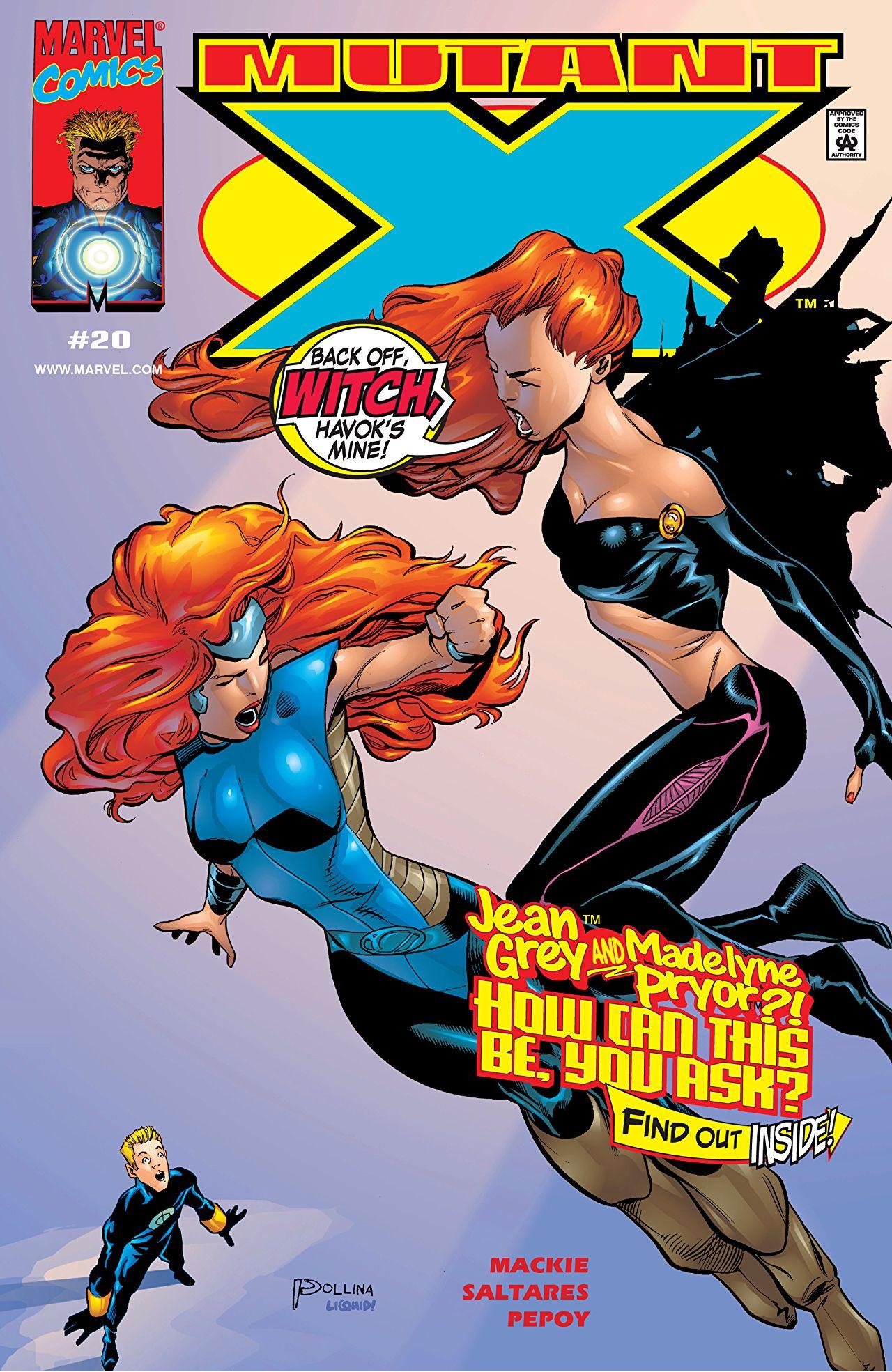 Mutant X Vol 1 20