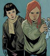 Natalia Romanova (Earth-616) and Marina (Red Room) (Earth-616) from Black Widow Vol 5 16 001