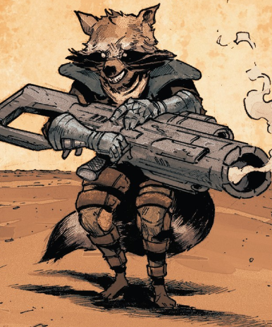 Rocket Raccoon (Earth-21923) from Old Man Quill Vol 1 2 001.png
