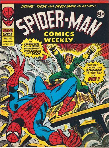 Spider-Man Comics Weekly Vol 1 107