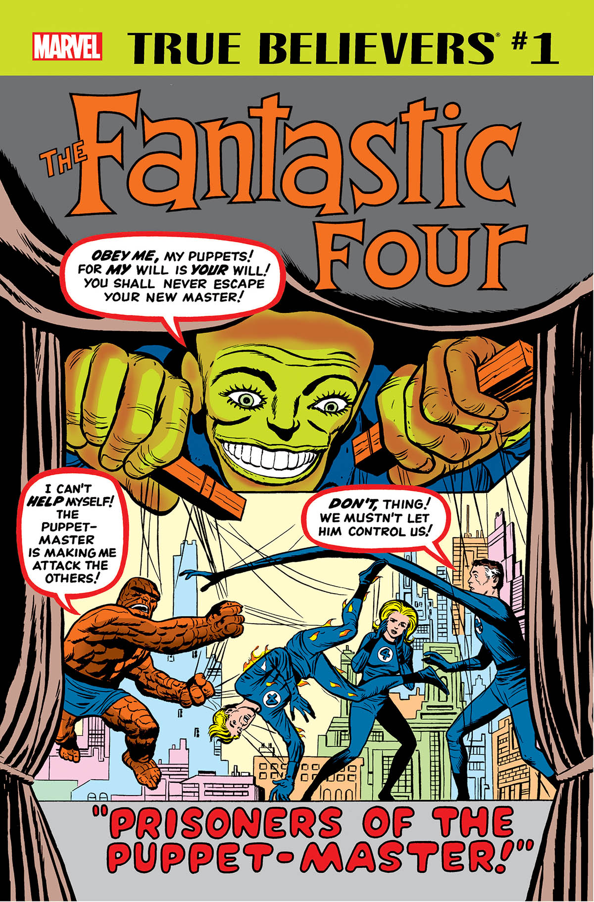True Believers: Fantastic Four - Puppet Master Vol 1 1