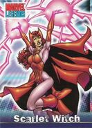 Wanda Maximoff (Earth-616) from Marvel Legends (Trading Cards) 0001
