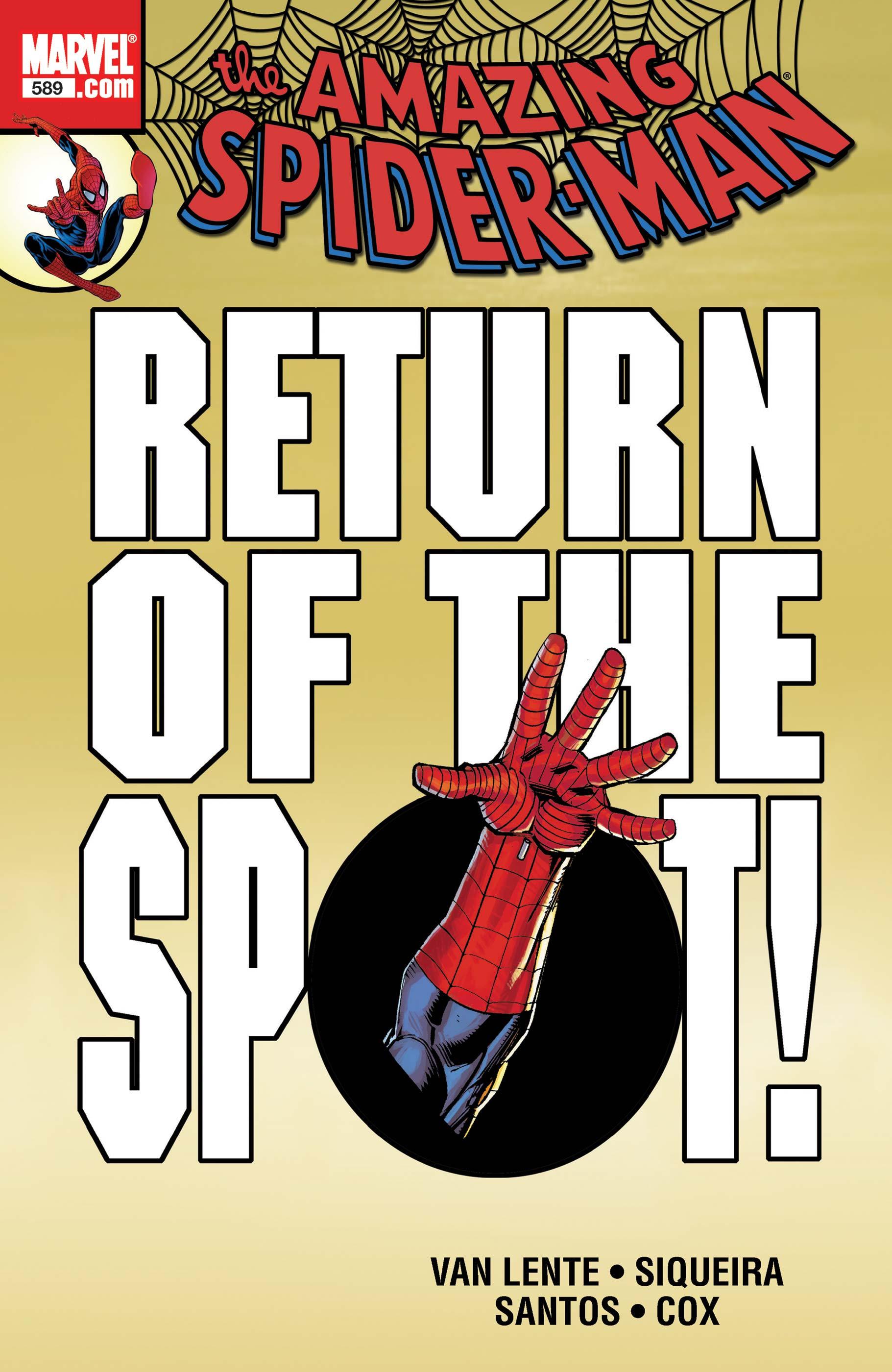 Amazing Spider-Man Vol 1 589