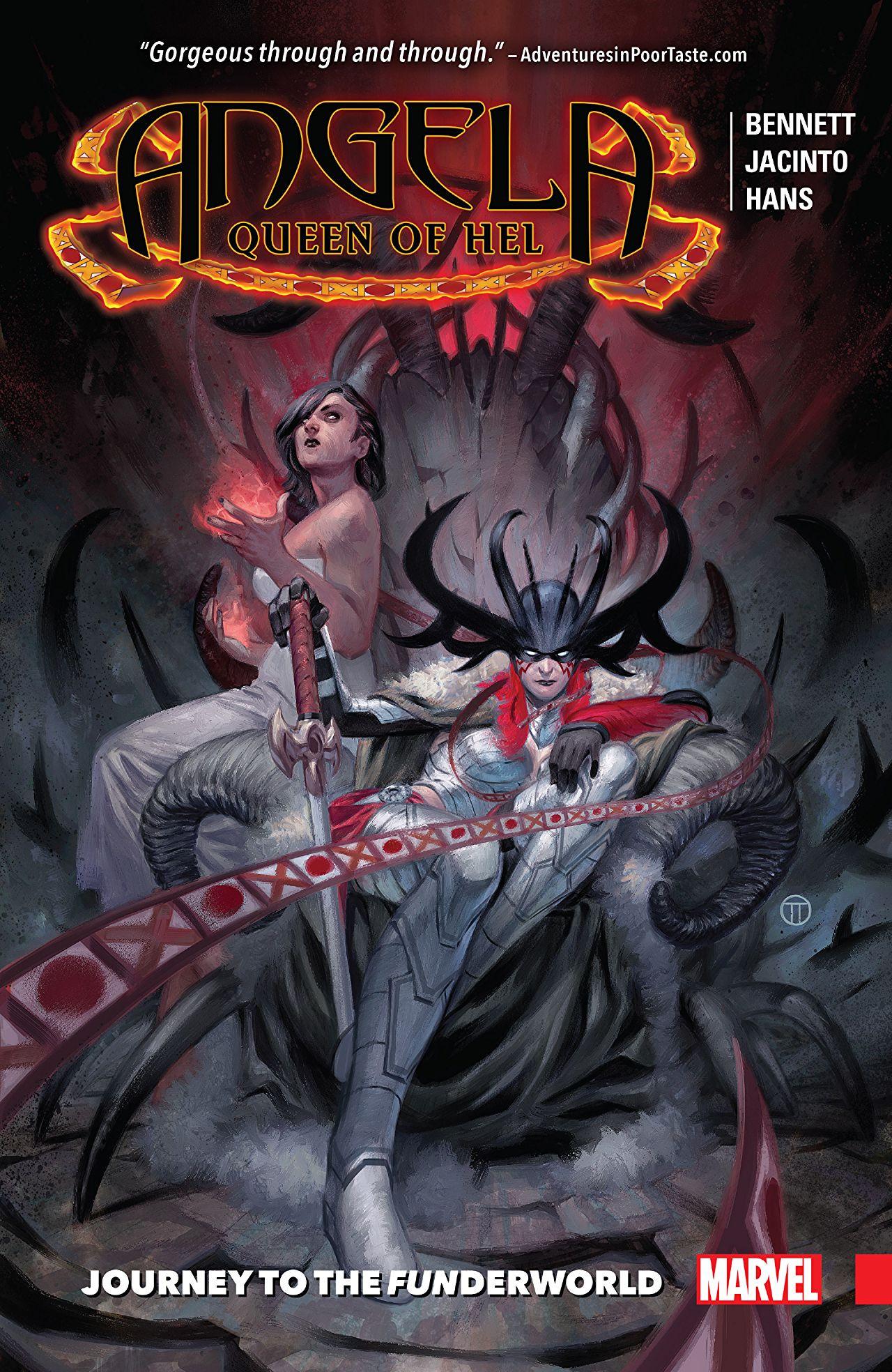 Angela: Queen of Hel - Journey To The Funderworld Vol 1 1