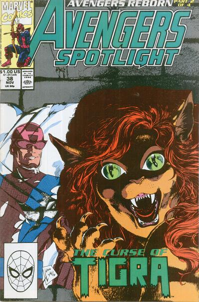 Avengers Spotlight Vol 1 38