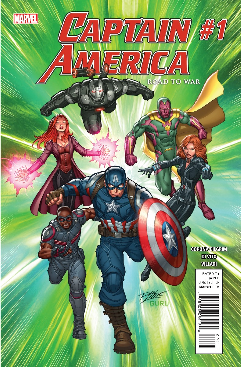 Captain America: Road to War Vol 1 1