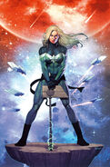 Captain Marvel Vol 10 19 Empyre Variant Textless