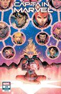 Captain Marvel Vol 10 28 Ortega Variant
