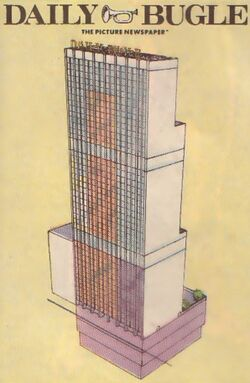 Daily Bugle Building from Official Handbook of the Marvel Universe Vol 1 3 0001.jpg