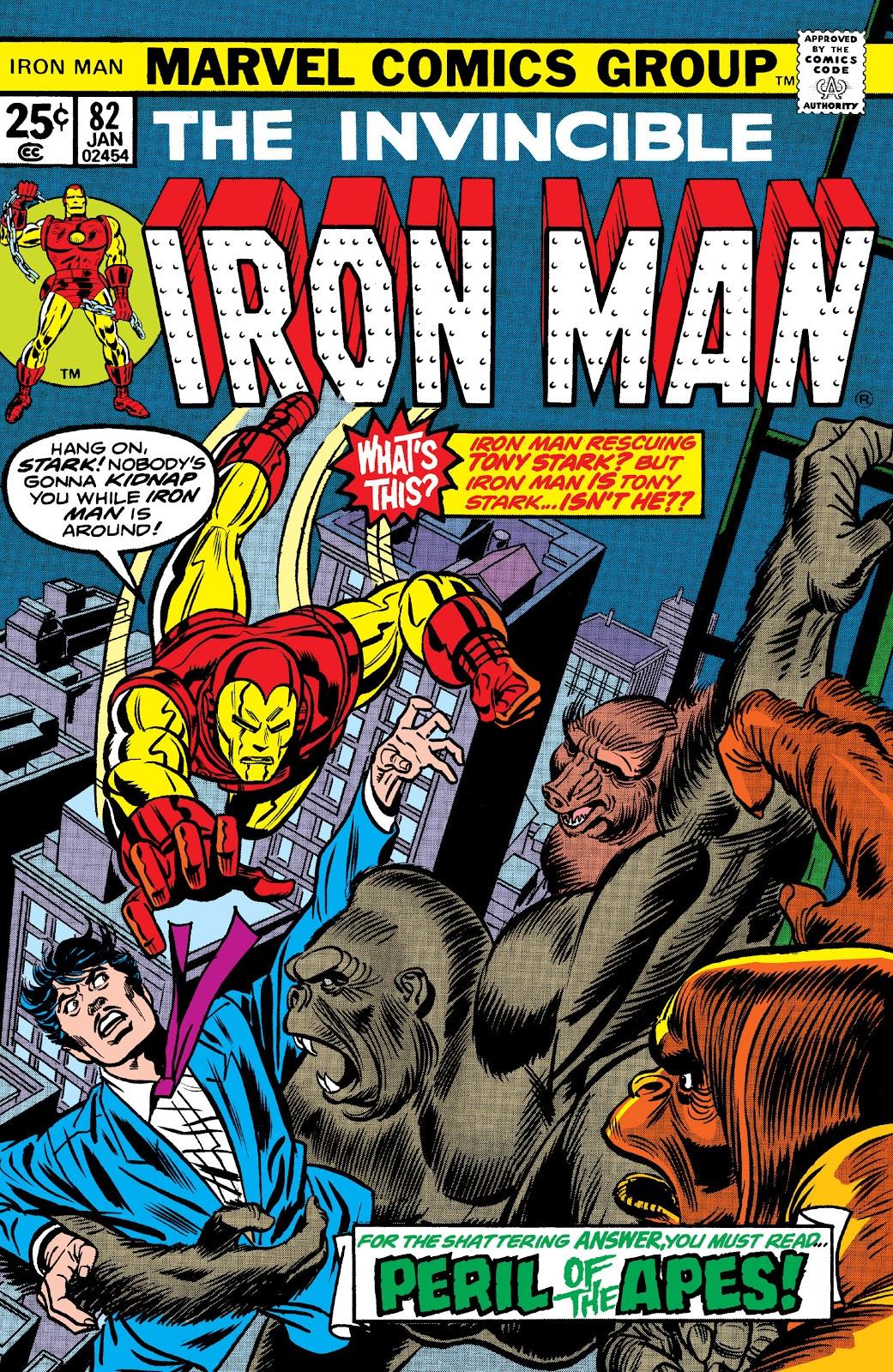 Iron Man Vol 1 82